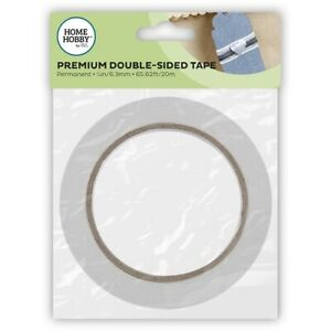 HOMEHOBBY-6-3mm-x-20m-Premium-Double-Sided-Tape-Permanent-Acid-Free-Craft-DIY