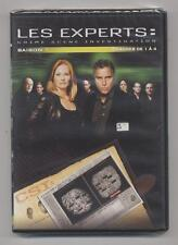 NEUF DVD LES EXPERTS CRIME SCÈNE INVESTIGATION 4 ÉPISODES N°1 A 4 SAISON 1