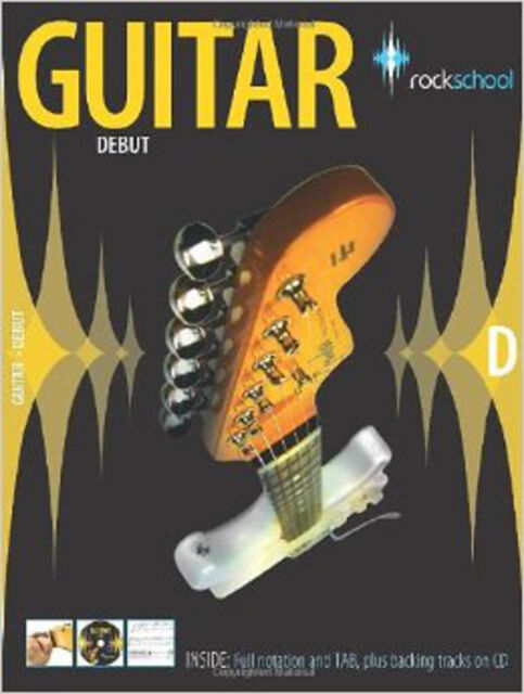 Rockschool Guitar Debut (2006-2012), New,  Book