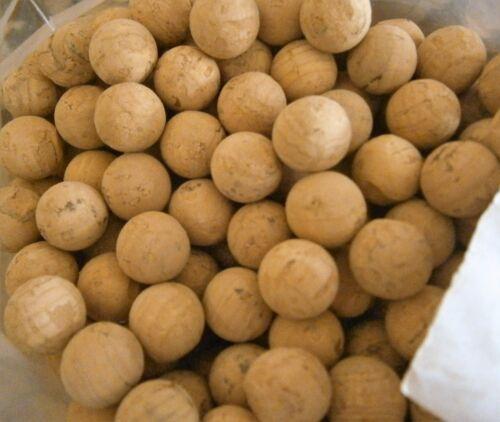 30 PER PACKET cork balls 9 to 19mm