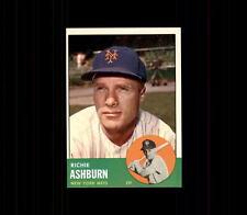 1963 Topps Richie Ashburn #135 Baseball Card