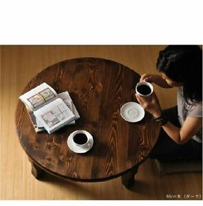 chabudai japanese traditional family round table high quality hand