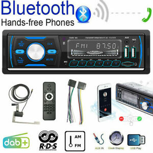1-DIN-DAB-RDS-AM-FM-Car-Stereo-MP3-Player-Radio-Audio-Bluetooth-USB-SD-AUX-IN