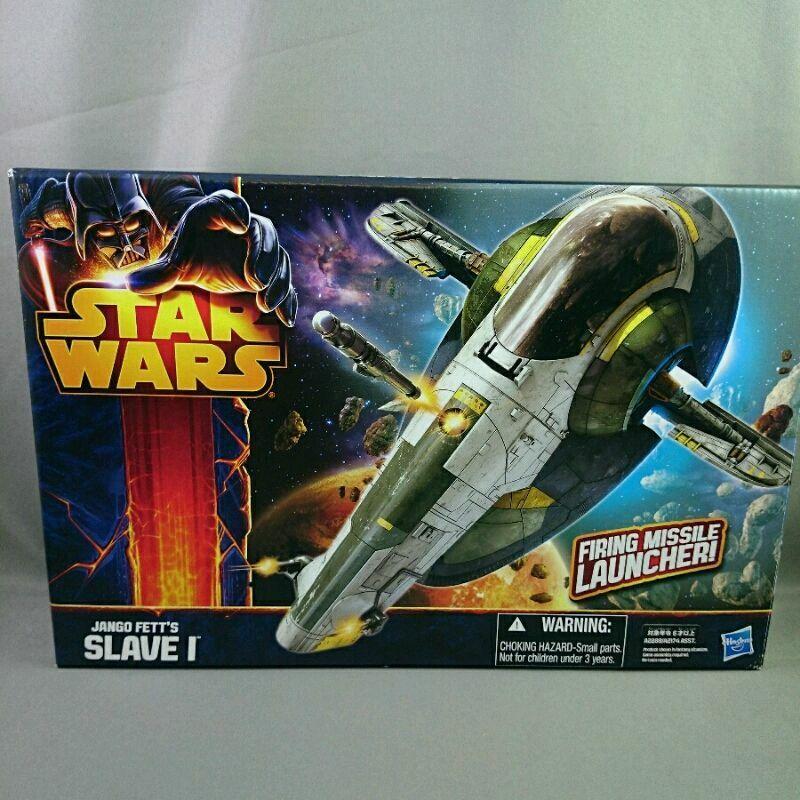 descuento Estrella WARS JANGO FETT FETT FETT Esclavo Hasbro me disparo lanzador de misiles Figura de Acción Japón  venta al por mayor barato