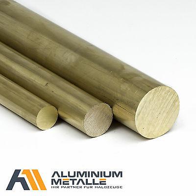 Messingstange auf Zuschnitt L: 400mm Messing Rundstange Ms58 /Ø 6mm 40cm