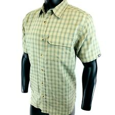 2369f9762 Men's The North Face Vent Me Short Sleeve Shirt Mid Grey Plaid ...