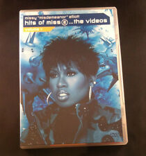 "Missy ""Misdemeanor"" Elliot - Hits of Miss E...The Videos -PAL- Region 2/3/4/5/6"