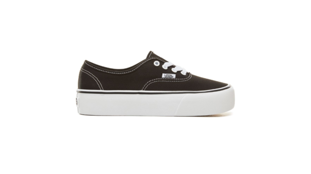 Nero 5 Vans Authentic Platform 2.0 Sneaker Donna (black Blk) 36. EU (vxx)