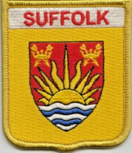 Suffolk County Flag Embroidered Patch Badge LAST FEW