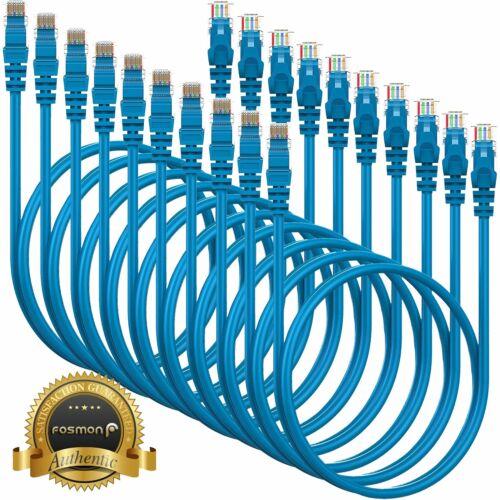 10 Pack Cat5e Cat5 Cable RJ45 Ethernet LAN Network Internet Cord Lot Bulk 3FT