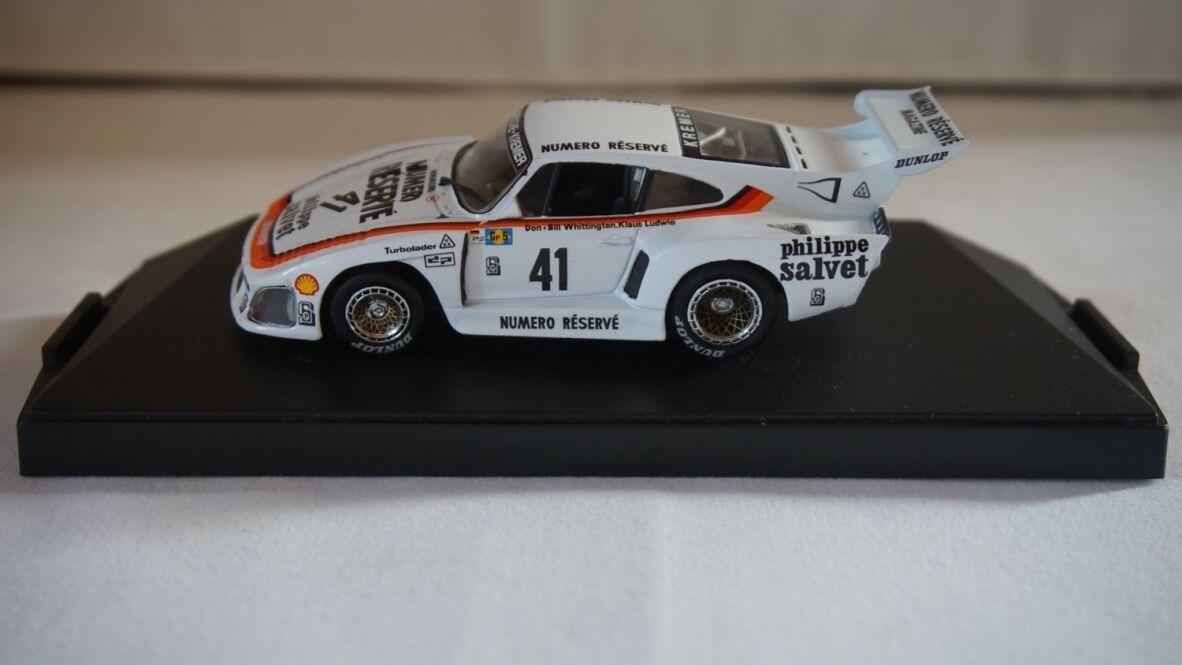 Quartzo 3001 3001 3001 Porsche 935 Kremer K3 'Numero Réservé' st Le Mans 1979 1 43 3a59f0