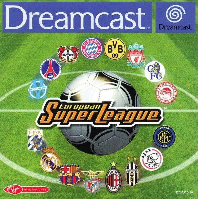 Sega Dreamcast Spiel - European Super League (mit OVP) (PAL)