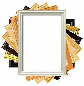 wooden style picture photo frame home office work gift present
