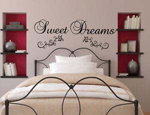 Das Bild Wird Geladen WT 22 WANDTATTOO Sweet Dreams Wandsticker Schlafzimmer  Suesse