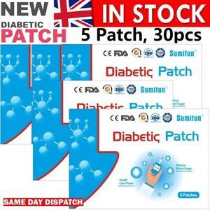 30Pcs-trattamento-anti-diabetici-patch-di-abbassare-lo-zucchero-nel-sangue-GLICEMIA-DIABETE