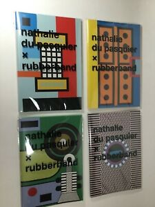 4 Journals by NATHALIE DU PASQUIER Designed for Rubberband NEW