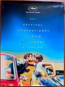 Plakat Gerollt Festival Cannes 2018 Pierrot Le Fou Belmondo Karina 60x80cm