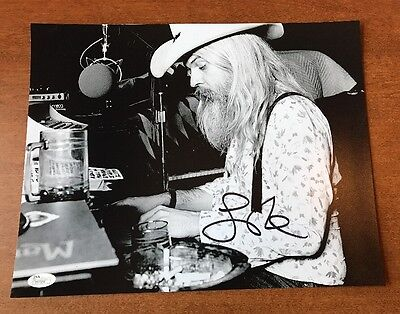 Discreet Signed Leon Russell Autographed 11x14 Certified Jsa Coa Chills And Pains Music
