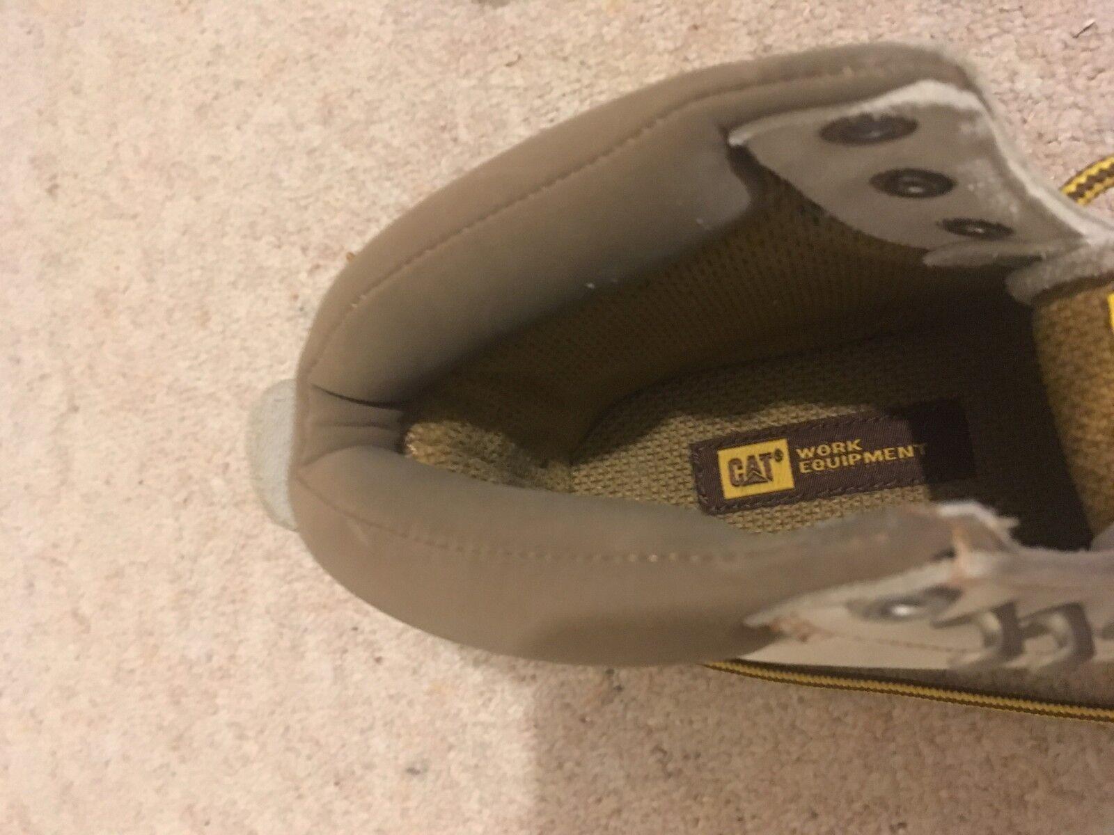 Stivali Caterpillar CAT Bianco in Pelle Scamosciata attrezzature attrezzature attrezzature di lavoro ufficio tecnico FLEX TAGLIA 4 37 NUOVI | Di Qualità Fine  | Uomo/Donna Scarpa  cf1268