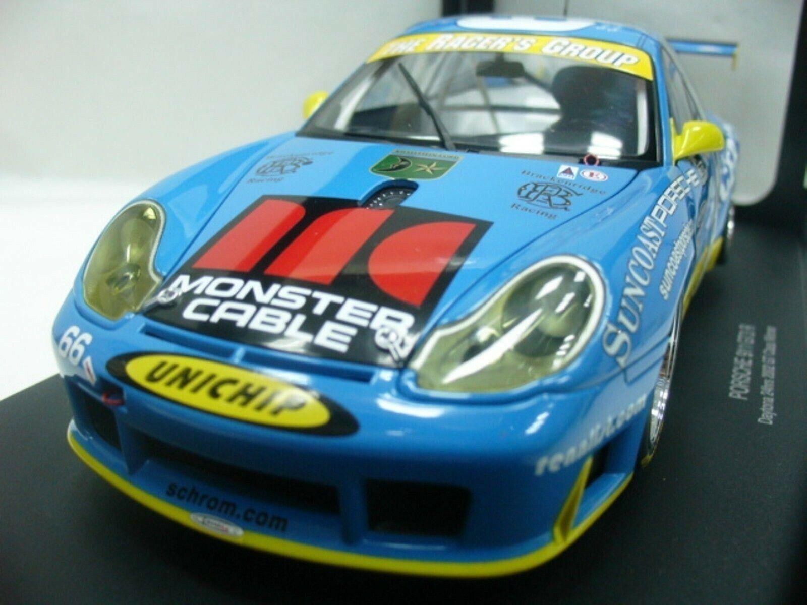 WOW EXTREMELY RARE Porsche 996 911 GT3R Winner Daytona 2002 1 18 Auto Art