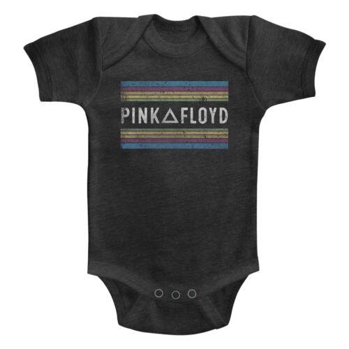 Pink Floyd Between Stripes Baby Romper Onezies 6-24 Month