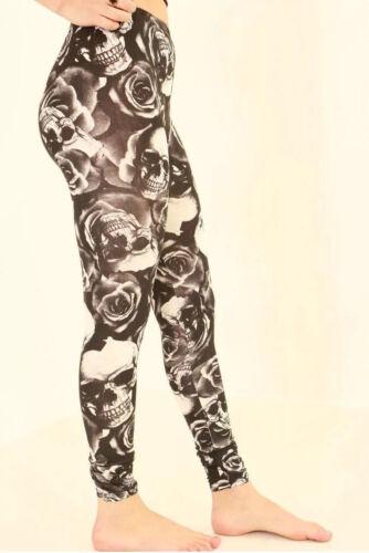 Nouveau Haut Femmes Cross Animal Imprimé Léopard Pleine Longueur étirée Legging UK
