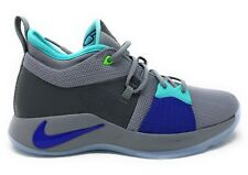 Nike PG 2 GS Pure Platinum Neo Turquoise Youth Sz 7Y Basketball Shoes  943820- 5757933ce0f