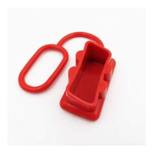 1-x-Red-Dust-End-Cap-to-Suit-50-Amp-Anderson-Plug-Dual-Battery-50a-DC