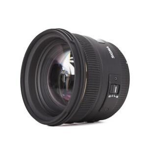 Sigma 50 mm f1.4 Ex DG HSM 50mm Festbrennweite für Canon Vollformat