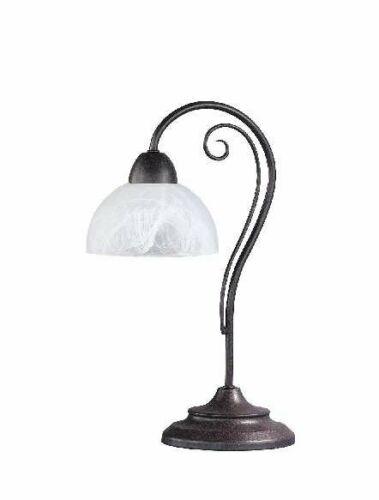#4292 Country Landhaus Tisch Lampe Nachttisch Country