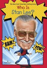 Who Was?: Who Is Stan Lee? by Geoff Edgers (2014, Paperback)