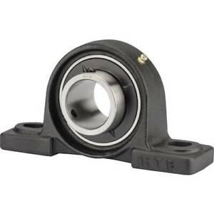 Cuscinetto con supporto ritto htb ghisa ucp 206 foro 30 mm distanza tra i fori