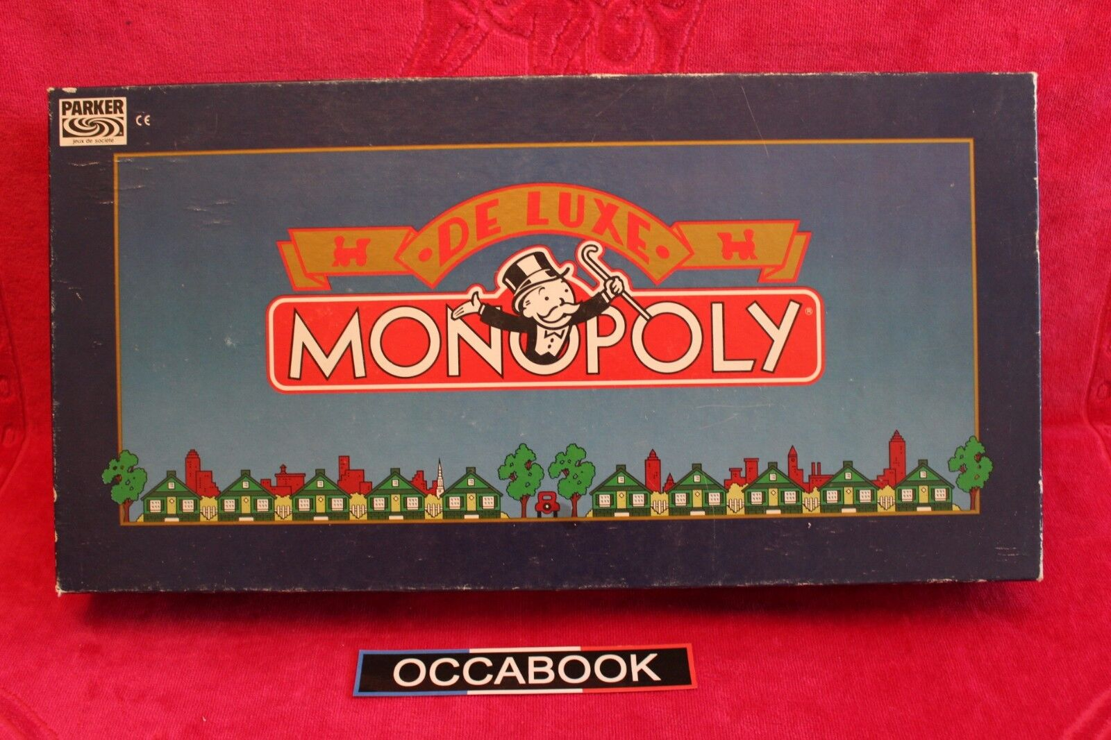 Monopoly de Luxe Vintage 1973 - complet avec notice