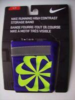 Nike Storage Band High Contrast Active Sports Athletic Unisex Purple Drifit Nip