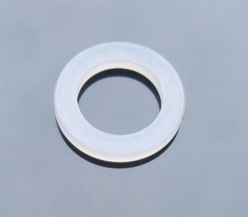 PTFE Dichtung Dichtring 18x12x2mm für Sauerstoff O2 Druckminderer Umfüllbogen