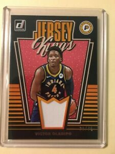 2019-19-Panini-Donruss-Victor-Oladipo-Jersey-Kings-28-75-Indiana-Pacers