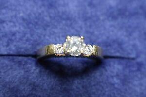 GIA-2500-75ct-D-E-I2-Diamond-14K-Gold-Shane-Co-Engagement-Wedding-Ring-Boxed