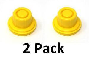 2PK BLITZ Replacement YELLOW SPOUT CAP Fuel Gas Top CAN # 900302 900092 900094