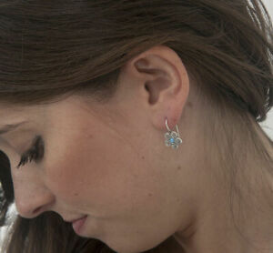 New-Amazing-925-Earrings-SHABLOOL-Opal-Blue-drop-Style-Sterling-Silver-Didae