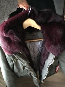 Lovely-Rabbit-Real-Fur-Jacket-Size-12-New