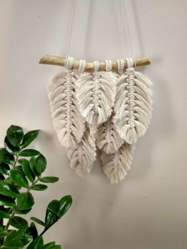 MACRAME 3 FEATHERS KIT **Make yourself Learn A New Craft!❤️**