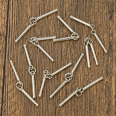 Punk Drum Stick Musical Pendant DIY Necklace Jewelry Making Accessory Charm Gift