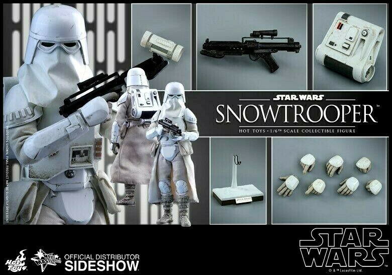 """HOT TOYS SNOWTROOPER STAR WARS MMS397 BRAND NEW SHIP SEALED 1/6 SCALE 12"""" EMPIRE on eBay thumbnail"""