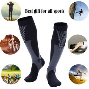 Unisex-Compression-Socks-Knee-High-Stockings-Athletic-Running-Outdoor-Scoks-GIFT