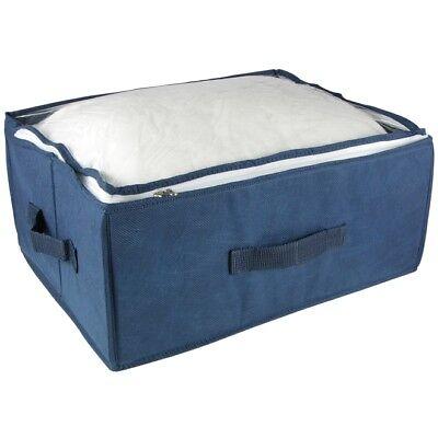 Onverdroten Aufbewahrungsbox Faltbar Mit Durchsichtigem Deckel, Reißverschluß & Tragegriffen