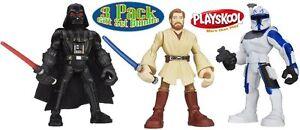 Playskool-Star-Wars-Jedi-Force-Darth-Vader-Obi-Wan-Captain-Rex-Ages-3-Toy-Boys