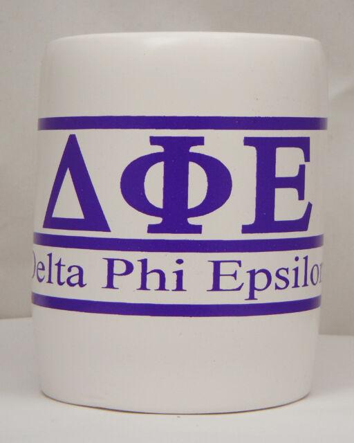 Delta Phi Epsilon, ΔΦΕ, Greek Letter and Name Kool Kan Koozie NEW