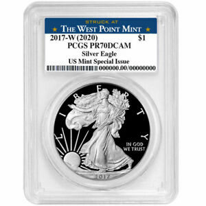 2017-W-2020-Proof-1-American-Silver-Eagle-PCGS-PR70DCAM-US-Mint-Special-Issu