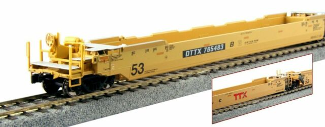 KATO 309052 HO TTX Gunderson Maxi-IV Double Stack 3-Unit Well Car Set 30-9052