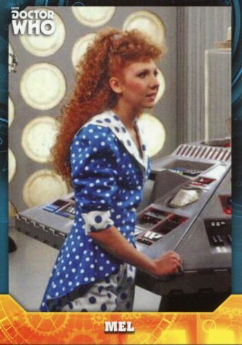 Doctor Who Signature Series Base Card #95 Mel